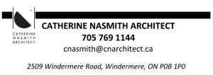 Catherine Nasmith business card
